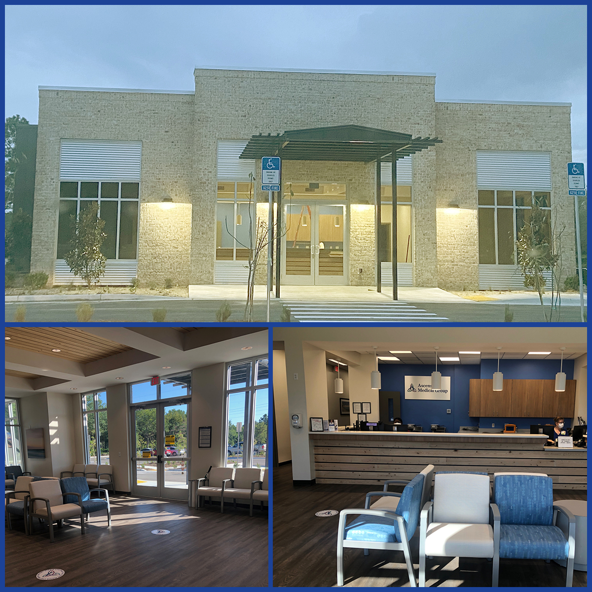 Ascension Medical Group Sacred Heart has opened a new healthcare facility in the Watersound Origins community in South Walton County, Florida.