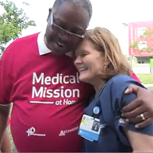 Ascension Medical Mission at Home​ at Providence Health System, District of Columbia, hosts events to help the poor.