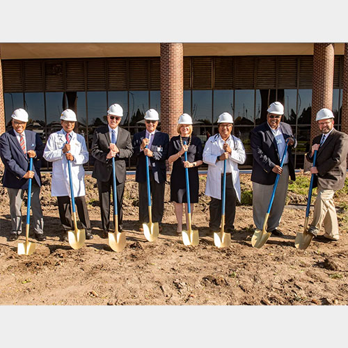 Ascension Michigan board members break ground for new emergency care center