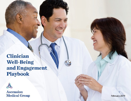 Clinical Well-Being and Engagement Playbook Cover Photo