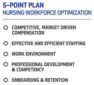 5 Point Plan Graphic